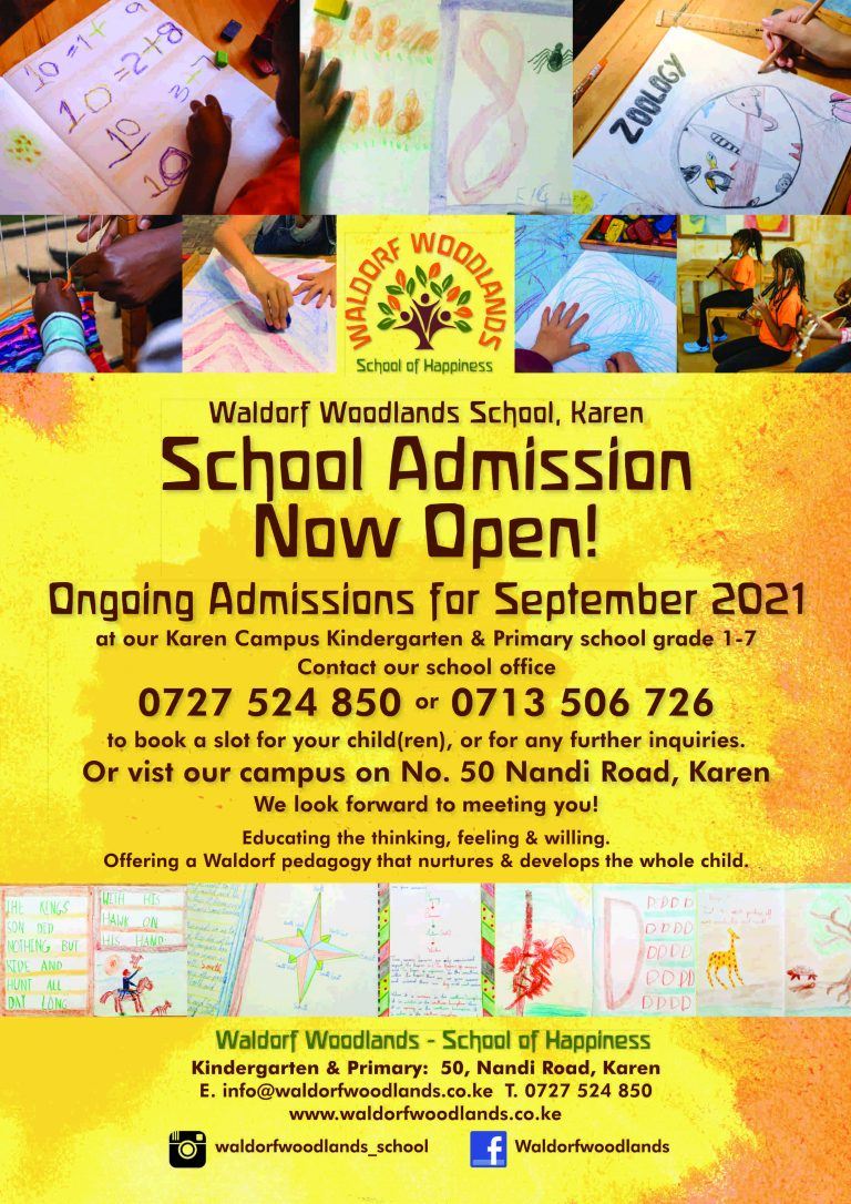 SEPTEMBER 2021 SCHOOL ADMISSIONS ON GOING!!